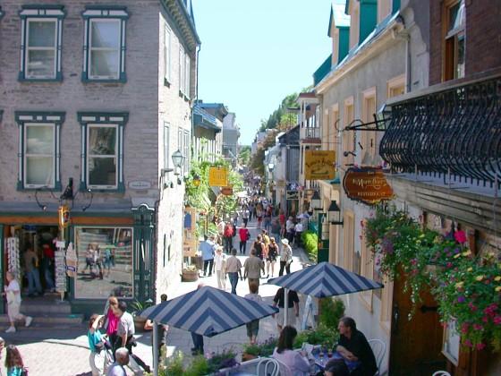 La rue Petit Champlain